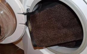 Можно ли постирать обычный ковер в стиральной машине